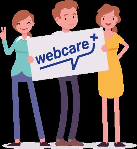 Wer ist webcare+