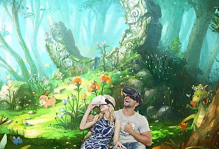 Virtual Reality Abtauchen