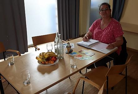 Britta Sarbok Heyer - Selbsthilfegruppe Krefeld