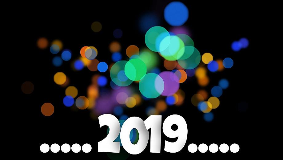 2019 mit schillernden Punkten