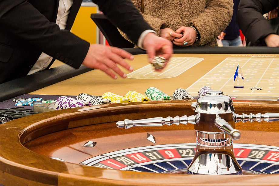 Roulette in einem Casino