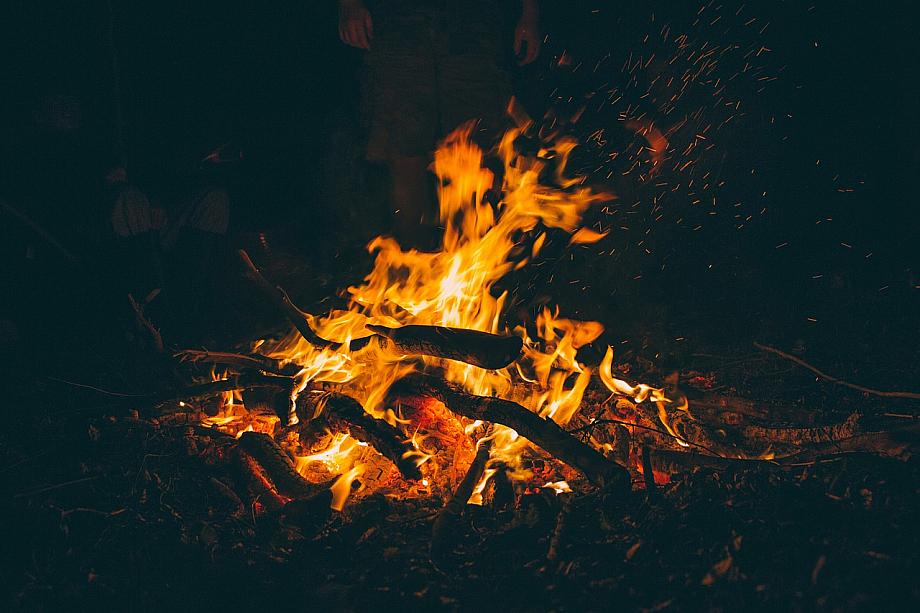 Lagerfeuer mit den Pfadfindern statt Computerspiele