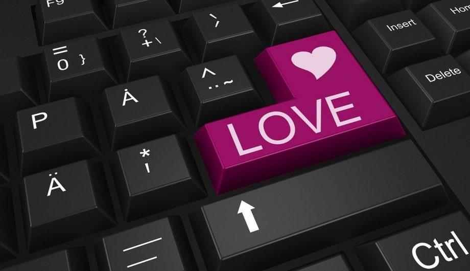 Herz und Liebe auf Enter-Taste