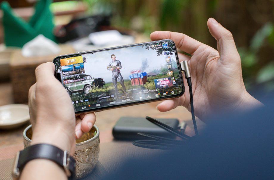 Gaming App auf einem Smartphone